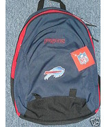Buffalo Bills Backpack Jansport Goal Line NFL Football Large School Blue... - $43.97