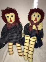 """Raggedy Ann And Andy Large 33"""" Rag Dolls by Springford Inc Gifts Big Sha... - $15.20"""