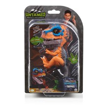 SCRATCH Untamed Raptor Dinosaur T-Rex ORANGE Dino WowWee Fingerlings Sealed - $24.99