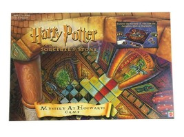 Vtg 2000 Harry Potter and the Sorcerer's Stone Mystery at Hogwarts Board... - $15.86