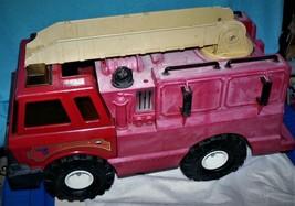 Vintage Red Tonka Fire Dept. Hasbro 1999 No. 5 Fire Truck - $21.43
