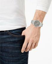 I.N.C. International Concepts Men's Silver-Tone Link Bracelet Watch 42mm NIB image 4
