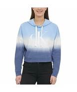 Calvin Klein Jeans Womens Monogram Logo Tie Dye Block Hoodie (Winterdip ... - $23.75