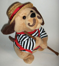 "Cuddle Barn Plush Dog Gondolomia Animated  sings ""It's Now or Never"" O S... - $39.59"