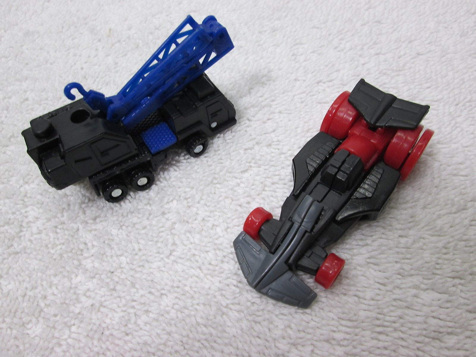 Transformers Energon Prowl w/Longarm & Starscream w/Zapmaster - Hasbro 2004