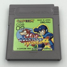 Rockman World 4 Nintendo Game Boy/Color Japan Mega Man IV Megaman 4 Capc... - $20.23