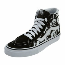 Vans SK8 Hi Reissue Skulls Black/True White Men's Classic Skate Shoes Si... - £56.96 GBP