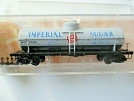 Micro-Trains # 06500196 Imperial Sugar 39' Single Dome Tank Car N-Scale image 1