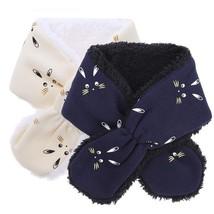Leece rabbit pattern toddler kids knitted warm neck scarves infant children.jpg 640x640 thumb200