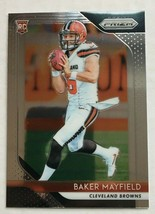 2018 Panini Prizm Baker Mayfield #201 Cleveland Browns Rookie Card NM Co... - $39.99
