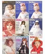 9 DOLL READER MAGAZINES 1994 - 1996 Alexander Middleton Barbie Sasha Art... - $29.99
