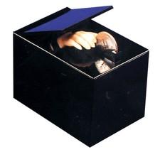 Retro Animated Coin Bank THING MAGIC HAND BLACK BOX MONEY TRAP Collectib... - $15.81