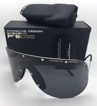 New PORSCHE DESIGN Silver Shield Sunglasses P'8479 B as Worn by KIM KARDASHIAN