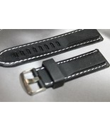 Sports Rubber 24mm water resistant watch band Steel Buckle fits Luminox - $12.00