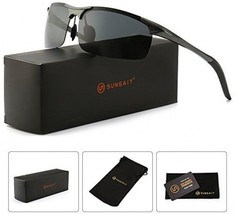 SUNGAIT Men's HD Polarized Sunglasses For Driving Fishing Cycling Runnin... - $52.98