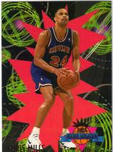 94-95 Fleer NBA Basketball Trading Card Gold Insert - Chris Mills - Rookie - $1.97
