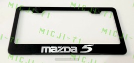 Mazda 5 Stainless Steel License Plate Frame Rust Free W/ Bolt Caps - $11.99