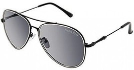 Grey Aviator Sunglasses For Women With Metal Frame And Polarized Lenses - $10.56