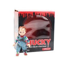 12cm Child's Play Bride of Chucky 1/10 Scale Horror Doll Chucky PVC Action - $33.65