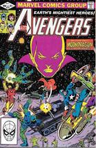 The Avengers Comic Book #219, Marvel Comics 1982 NEAR MINT NEW UNREAD - $9.74