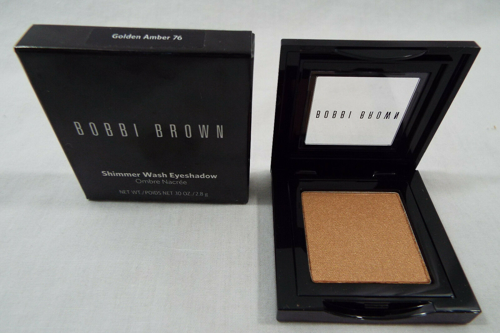 Primary image for Bobbi Brown in Shimmer Wash Eye Shadow in Golden Amber 76  .10 oz 2.8g