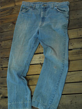 VINTAGE! LEE Riders Jeans Talon 42 zipper Made USA Workwear/Ranch/Cowboy... - $26.99