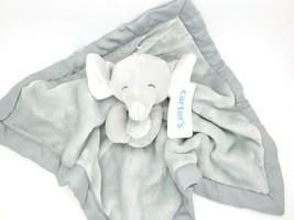 Carter's Baby Security Blanket Grey Elephant Blankie - $19.99