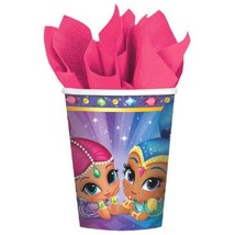 Shimmer and Shine 8 9 oz Hot Cold Paper Cups Birthday Party - $4.55