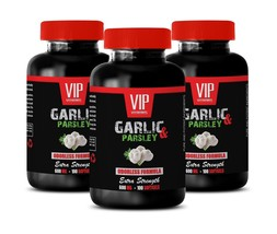 immune system support - ODORLESS GARLIC & PARSLEY 600mg - liver detox 3B - $35.49