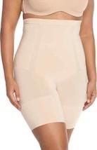 Spanx Women's OnCore High Waist Mid Thigh Shaper Shorts, Nude, Medium - $34.78