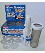 Super Shooter Cordless Cookie Press Model 80000 Hamilton Beach Vintage N... - $19.99