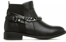 Shoe Dazzle ~ Black ~ Faux Leather ~ Women's Size 10 Boots ~ Seren - $44.55