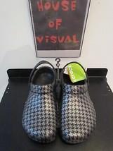 Crocs houndstooth Vegan nonbinary bistro clog Non-slip shoe US M10 W12 w... - $60.78