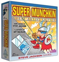 Super Munchkin Guest Artist Edition Steve Jackson Games New Sealed - $48.04