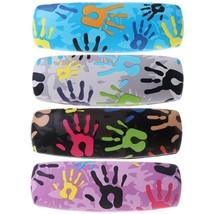Fashion Glasses Box Palm Painting Reading Sunglasses Case Eyewear Storag... - $10.99