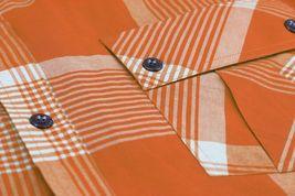 Men's Short Sleeve Cowboy Button Down Casual Plaid Pattern Western Dress Shirt image 14