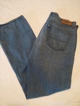 Levi's 281 Straight Fit Denizen Men's Jeans Size 36x32 Distressed - $305,17 MXN