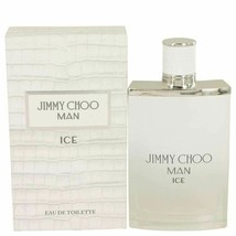 Jimmy Choo Ice by Jimmy Choo Eau De Toilette Spray 3.4 oz for Men - $40.81