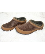 The North Face Fleece Lined Stitched Slip On Mules Suede Women's US 5.5 ... - $47.52