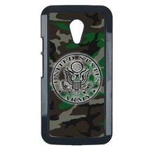 U.S. Army Motorola Moto G case Customized premium plastic phone case, design #4 - $10.88