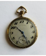 C.H.Meylan 19 jewel Art Deco 18 k pocketwatch sold by Bigelow & Kennard Co - $1,950.00