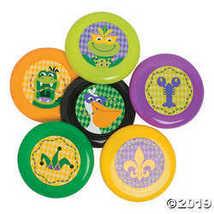 Mardi Gras Mini Flying Discs - $16.74