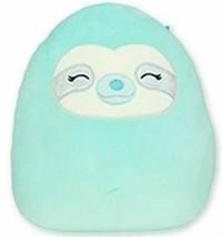 "Sleep Sloth Squishmallow Plush Doll, Aqua Sloth Squishmallow, 8"" - $24.44"