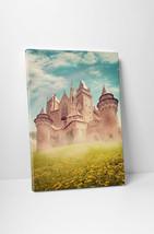 Fairy Tale Princess Castle Children Kids Wall Art Gallery Wrapped Canvas Print - $44.50+