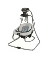 Graco 1893776 Duetsoothe Multi-Directional Swing with Rocker Sapphire New - $133.65