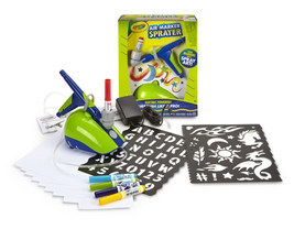 Crayola Electric-Powered Creative Air Marker Sprayer with Funky Designs ... - $30.97