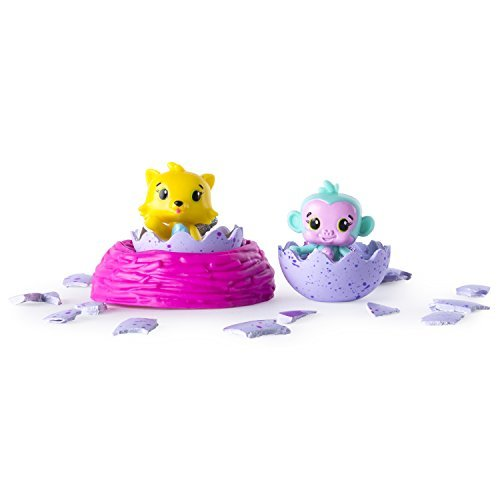 Hatchimals 6034164 Colleggtibles with Nest Playset (Pack of 2)
