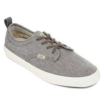 New VANS Men's Quinn Canvas Skate Shoes Gray  Sz 8 athletic  - $33.42