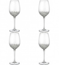 Waterford Crystal Alana Essence Goblet Four Goblets (4) New #151403 Disc... - $242.55