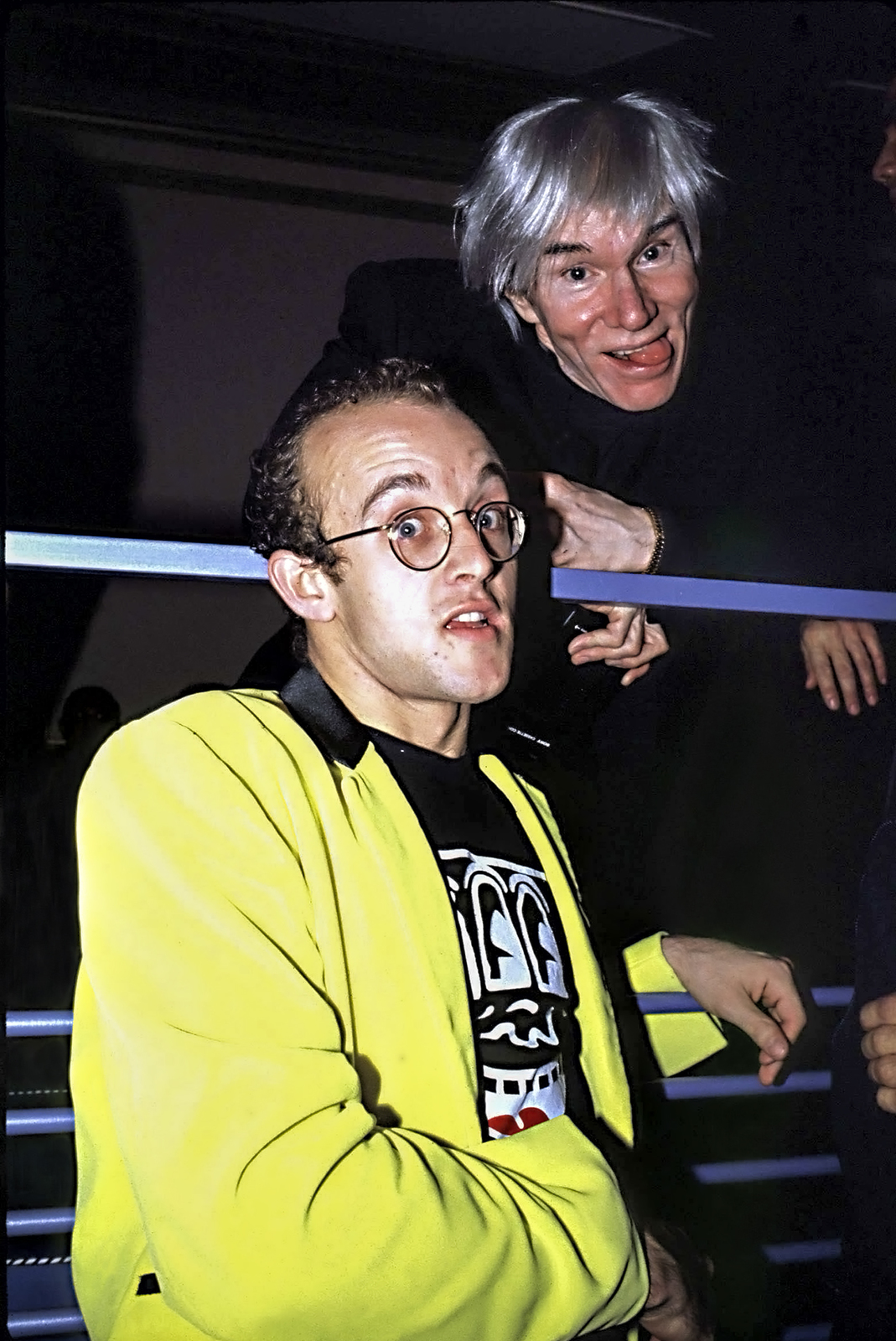 Primary image for Keith Haring and Andy Warhol, an Archival Print